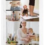 como bajar la panza despues del embarazo