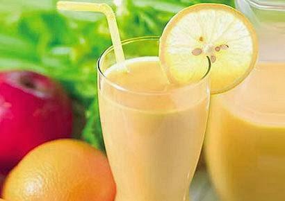 Licuado de Limón y Naranja